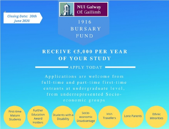 NUIG 2020 Bursary Grant Applications