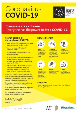 Updated government guidelines on cocooning and protection from Covid-19
